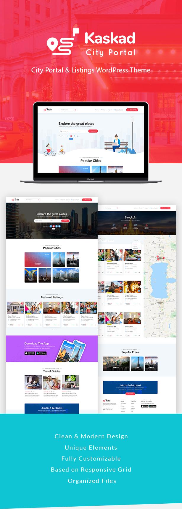Kaskad - City Guide WordPress Theme - 5