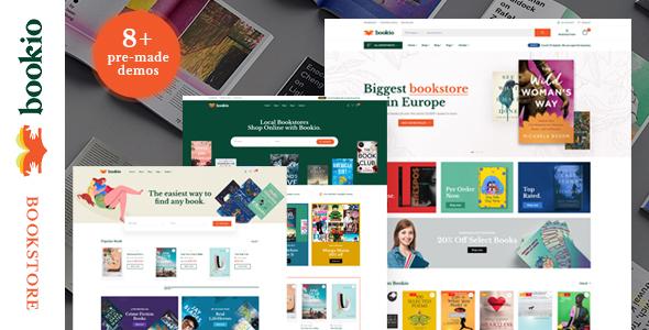 Wordpress Shop Template Bookio – Book Store WooCommerce WordPress Theme
