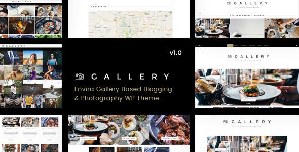 Wordpress Kreativ Template Gallery - Blogging & Envira WordPress Theme