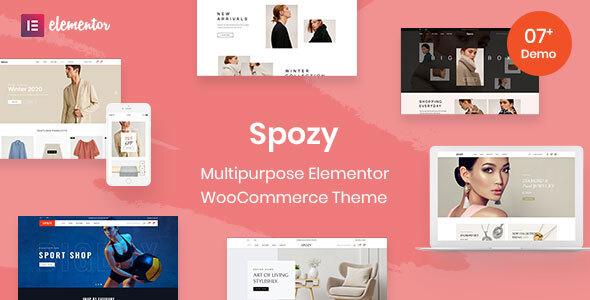Wordpress Shop Template Spozy - Multipurpose WooCommerce Theme
