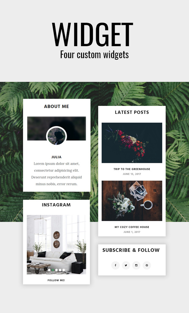 Julia - Klassisches WordPress-Blog-Theme - 2