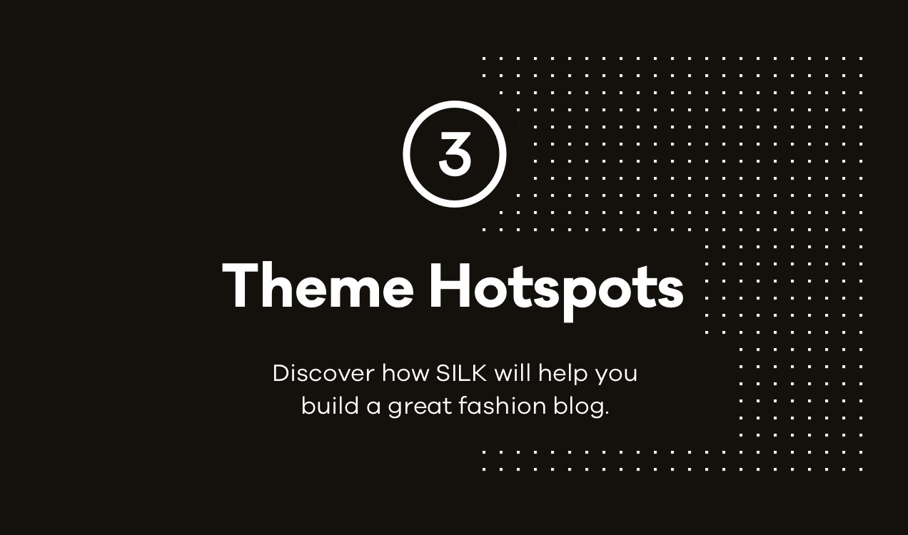 Seide Themen-Hotspots